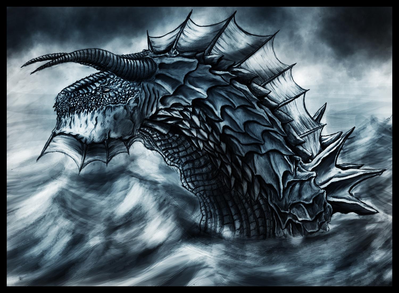 Sea Dragon by StormCross on DeviantArt