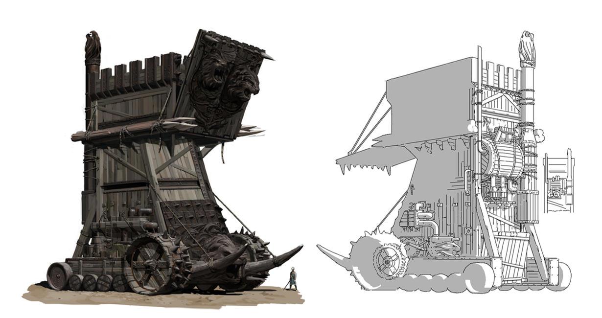 Siege Tower By Psychepool On DeviantArt