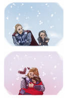 Thor x Jane Come Here by DevonCoon