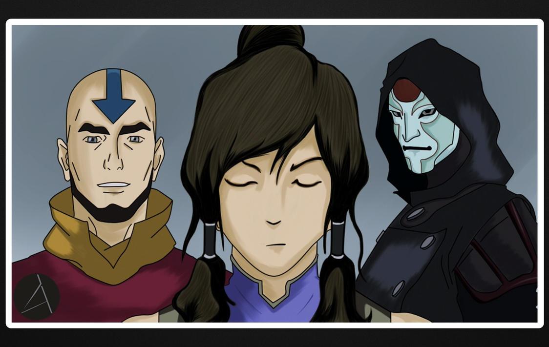 Illustration - Avatar the Legend of Korra by ArizRamoz