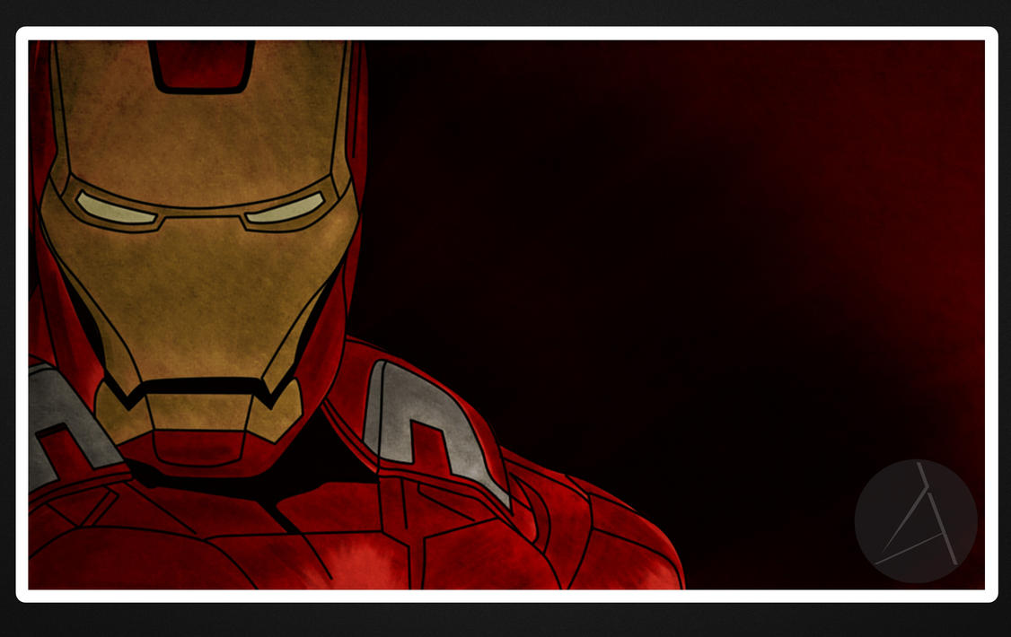 Illustration - Iron Man by ArizRamoz