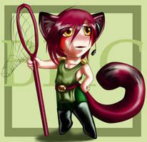 Bishie Hunter Club Mascot by FireCatRich