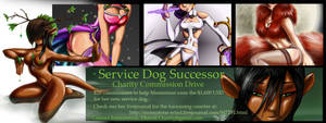 Service Dog Charity by FireCatRich