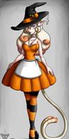 Pumpkin Witch Hostess