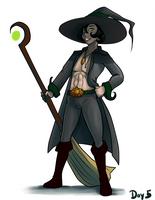 Day 5: Witch by FireCatRich