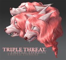Triple Threat by FireCatRich