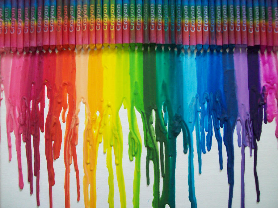 Crayon melt canvas by bazingadebruceninja on deviantart for How to melt crayons on canvas