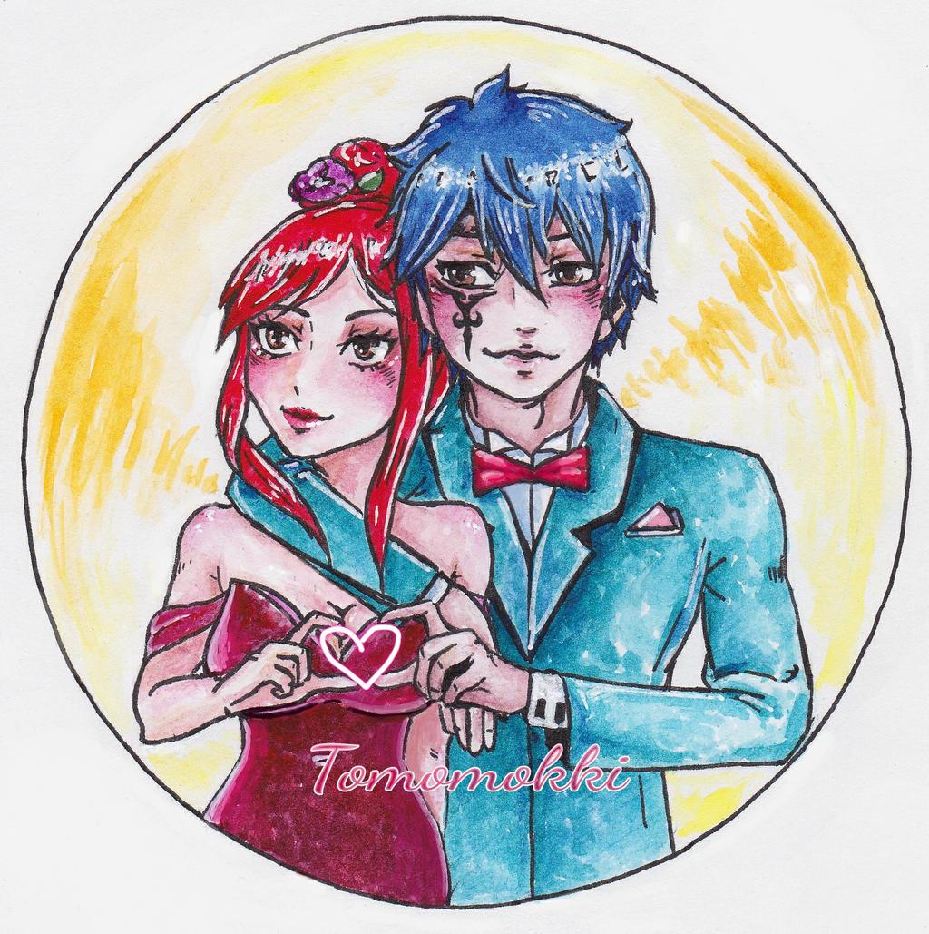 Jellal And Erza For U-chan By Tomomokki On DeviantArt