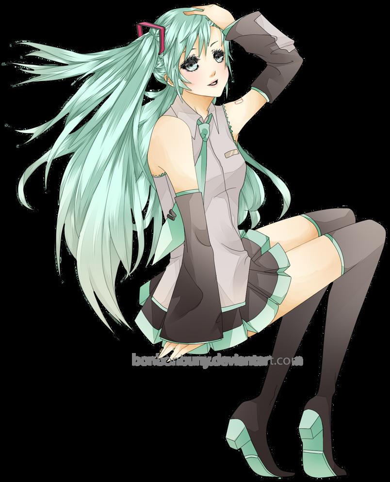Hatsune Miku by Jinkuri