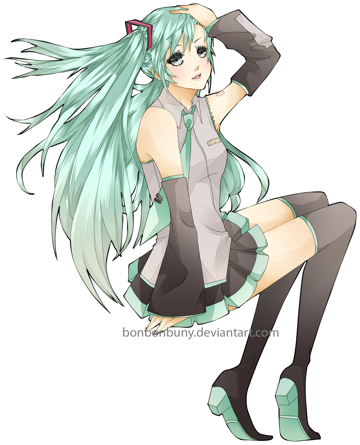 Hatsune Miku by Miivei