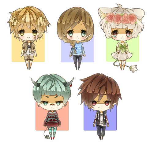Base Chibi Batch 1 by p1z