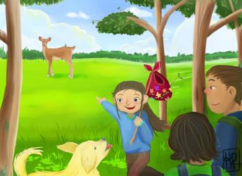 Oh Look a Deer by heidi-rodis