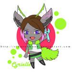OC Gift: Cyrielle