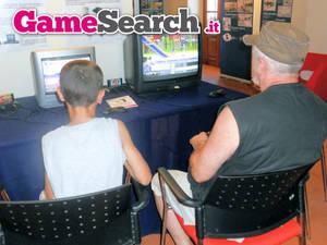 Grandfather and nephew @GameLand Agrate Brianza
