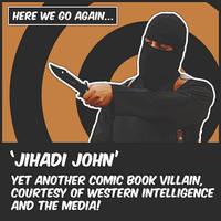 Jihadi-John Character by OrderOfTheNewWorld