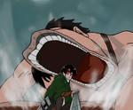 Levi vs. Beast Titan