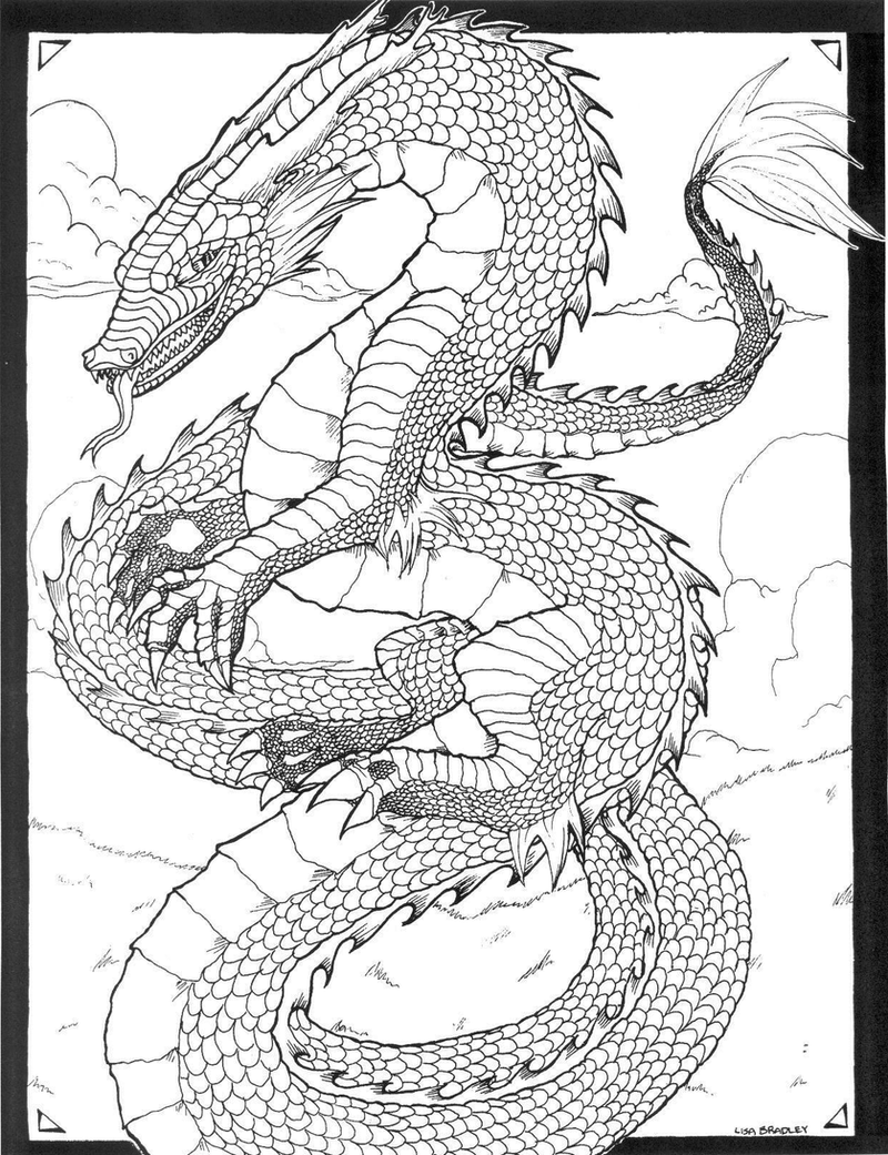Line Art Dragon : Chinese dragon lineart by vanzvire on deviantart