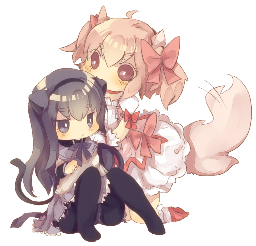 madoka_and_homura_cute_render_by_xblueberryscarletx-d3i22s3.png