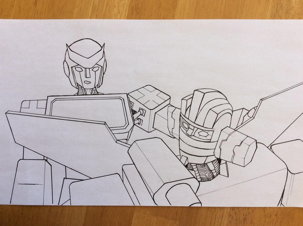 Ratchet and Wheeljack by Knight-Elkwarden