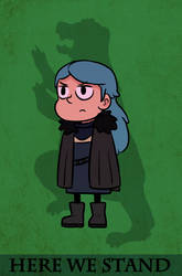 Hilda Mormont by starshipred
