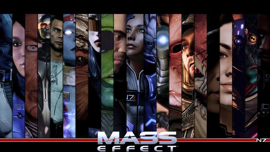 Mass Effect Companion Wallpaper by Ainyan42