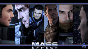 Mass Effect Wallpaper - Kaidan Alenko by Ainyan42
