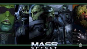 Mass Effect Wallpaper - Thane Krios