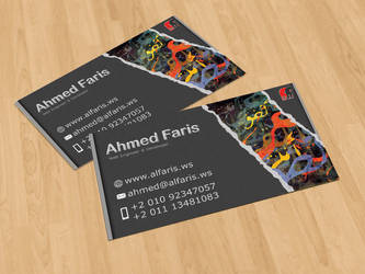 Ahmed Faris Personal Card by etech-savvy