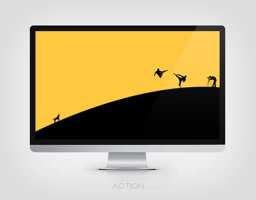 Minimalist Action Wallpaper