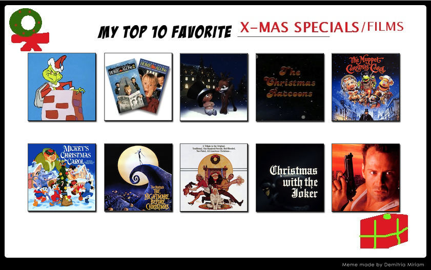 titos 10 favorite christmas movies and specials by tito mosquito