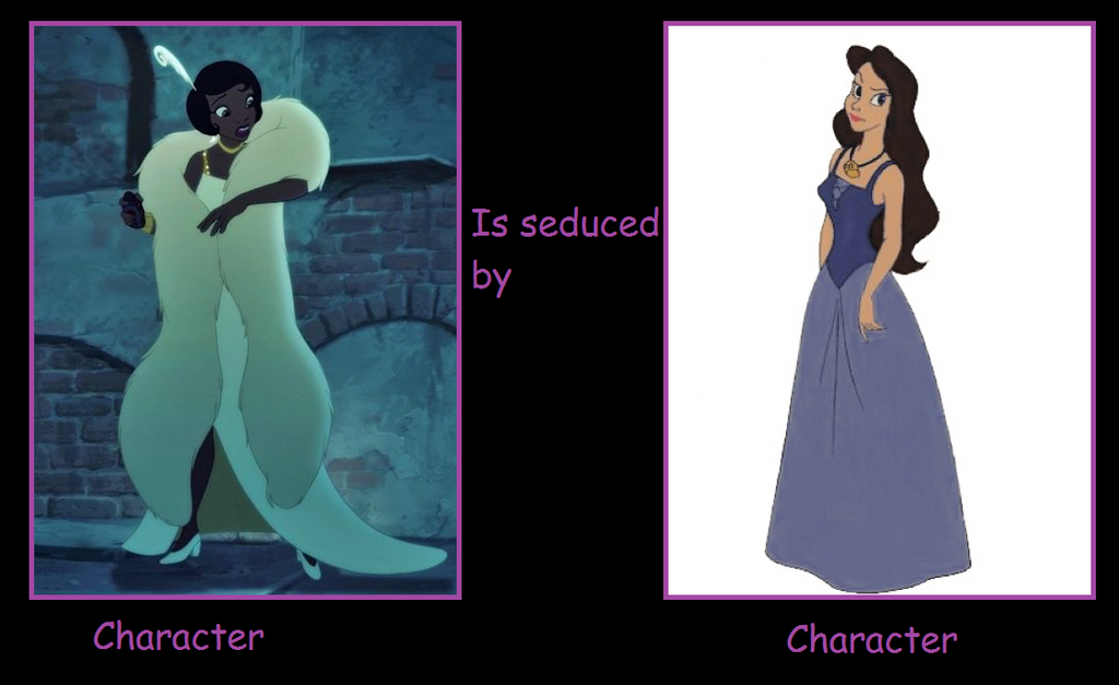 What if Tiana is seduced by Vanessa by Tito-Mosquito
