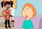 Lois thinks Roberta's hot
