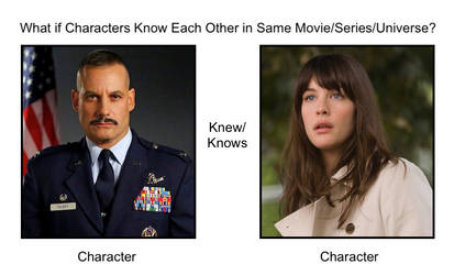 Glenn Talbot and Betty Ross know each other