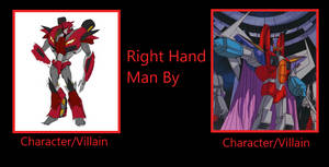 Knock Out the Right-Hand Con of King Starscream