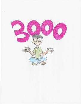 My 3,000th deviation