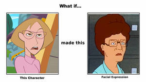 Mrs. Stoppable makes this Facial Expression