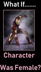 What if MCU Iron Man was Female