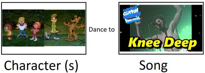 Scooby-Doo Detective Agency dance to 'Knee Deep'