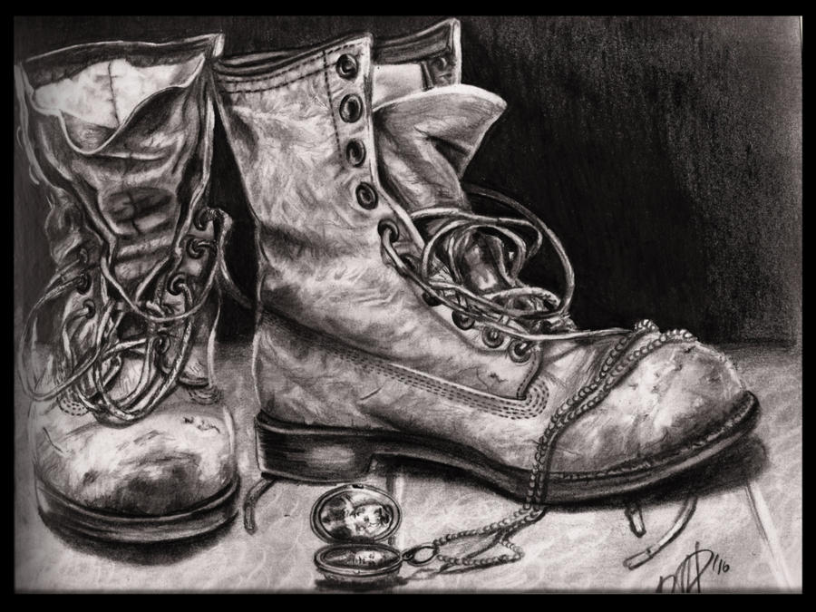 Old boots by rougealizarine on DeviantArt
