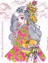 Autumn princess by deyenyen