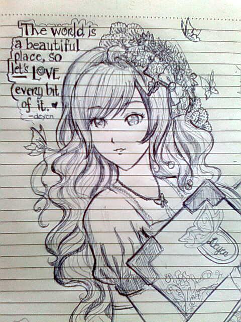notebook drawing by deyenyen on DeviantArt