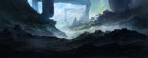 Mountain Facility by ecsian