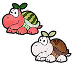 PAPER MARIO - The Fruity Shellcreepers