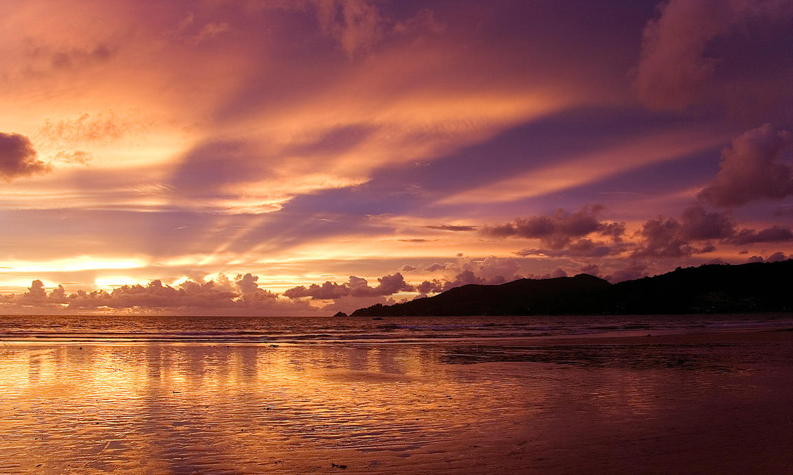 Phuket Sunset by peterdimo
