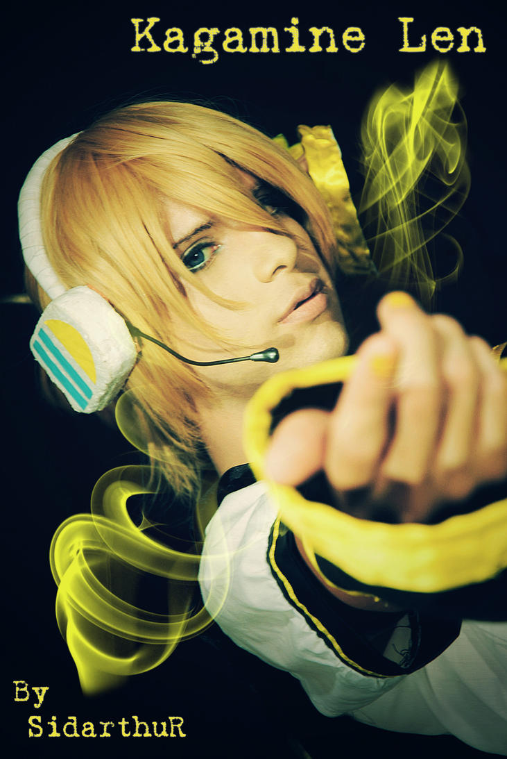 Len Kagamine Banana Kagamine Len Banana Boy xd by