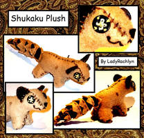 Shukaku Plush by LadyRachlyn