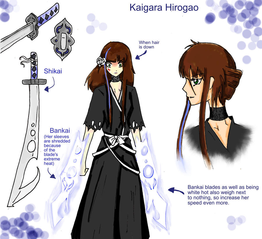 Bleach Oc Arashi By Sickeld160 On Deviantart: Kaigara By LadyRachlyn On DeviantArt