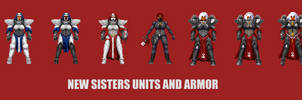 Inventory sprites for Sisters of Battle