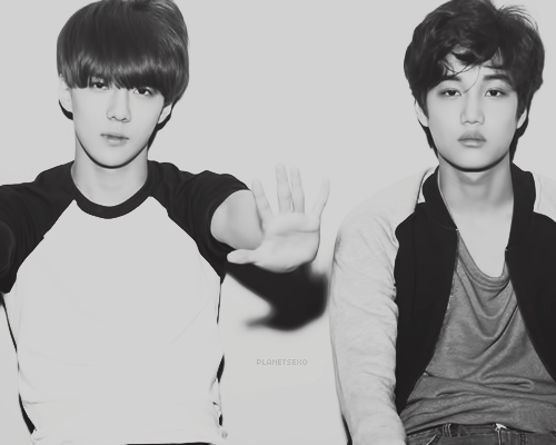 Kai and Sehun edit by NouNou01