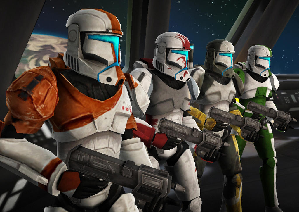 clone commando squad image - photo #1